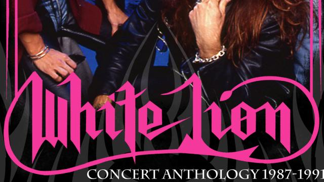 White Lion Concert Anthology 1987 To 1991
