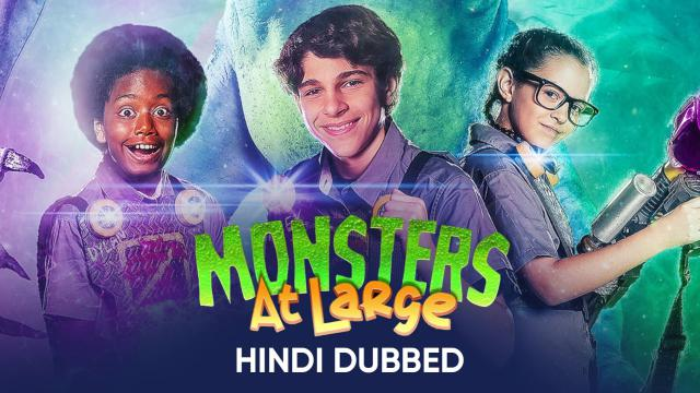 Monsters At Large (Hindi Dubbed)