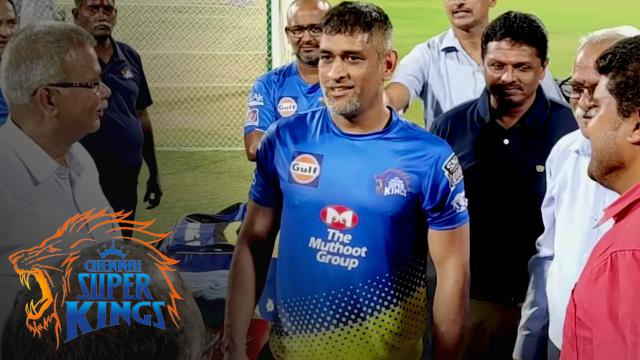 See you soon Den - Thala Dhoni signing off at Chepauk