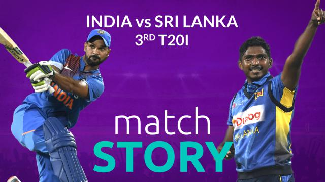 IND v SL, 3rd T20I, Match Story: India seal series