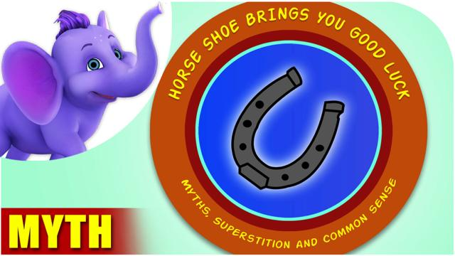 Horse shoe brings you good luck