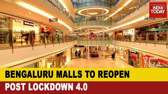 Bengaluru Malls Ready For Opening; Social Distancing Norm To Be Followed