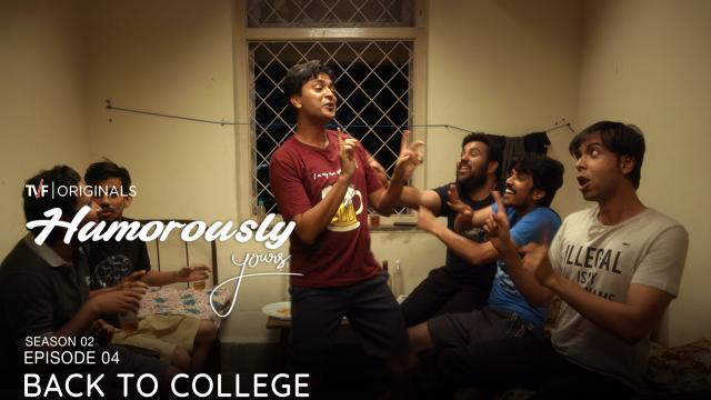 humorously yours college season episode shows