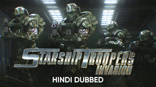 Starship Troopers: Invasion (Hindi Dubbed)