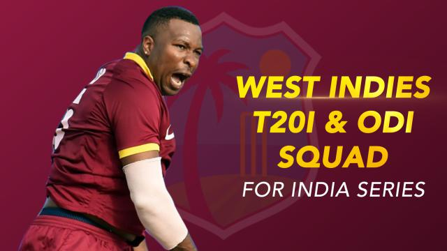 West Indies get big guns back to challenge India