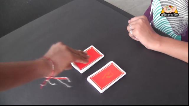 Black & Red Colour Card Trick Solution
