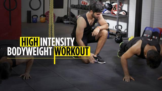 High Intensity Bodyweight Workout