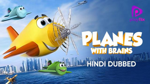 Planes With Brains (Hindi Dubbed)
