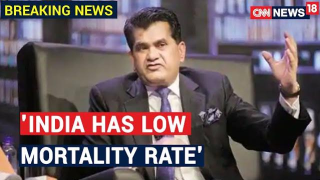 NITI Aayog CEO: India Has Lower Mortality Rate & Higher Recovery Rate