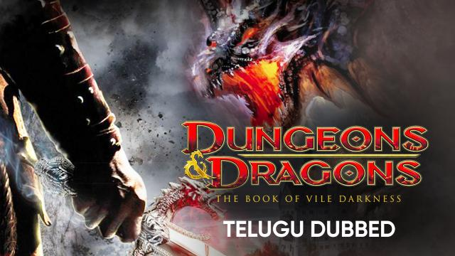 Dungeons & Dragons: The Book of Vile Darkness (Telugu Dubbed)