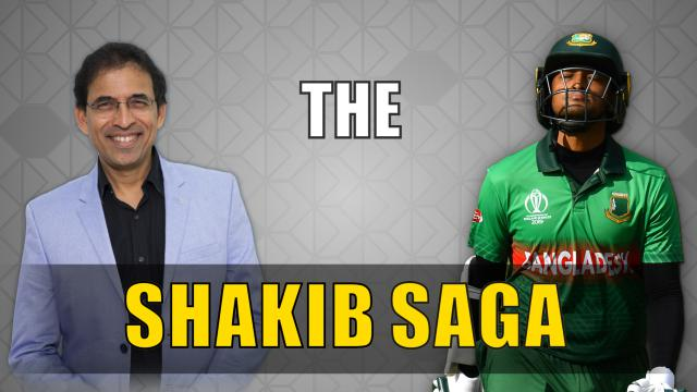 Shakib Al Hasan lucky to get away with just a year's ban - Harsha Bhogle