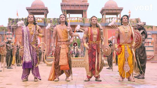 Sita reveals the story of four princes!