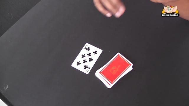 Black & Red Colour Card Trick