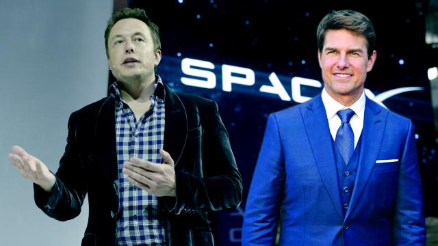 Tom Cruise And Elon Musk Collaborate For A First Ever Feature Film Shot In Space