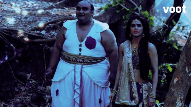 Chandrakanta's search for the magical cave