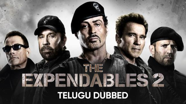 The Expendables 2 (Telugu Dubbed)
