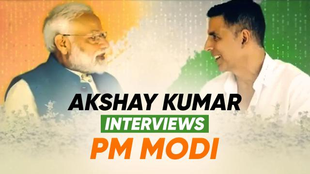 PM Modi's Interview with Akshay Kumar